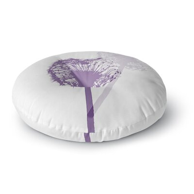 Monika Strigel Dandelion Flower Round Floor Pillow Size: 23 x 23
