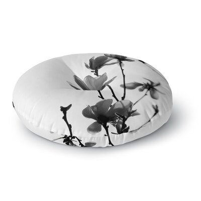 Monika Strigel Mulan Magnolia Round Floor Pillow Size: 23 x 23