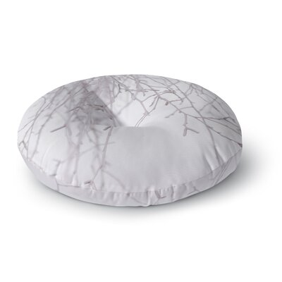 Monika Strigel Frozen Round Floor Pillow Size: 23 x 23