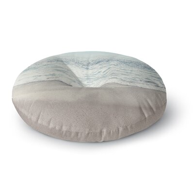 Monika Strigel The Sea Coastal Round Floor Pillow Size: 23 x 23