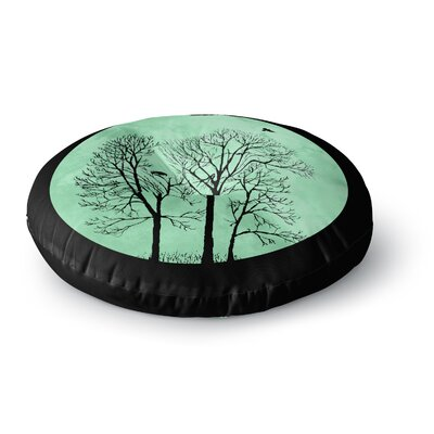 Micah Sager Perch Circle Round Floor Pillow Size: 23 x 23