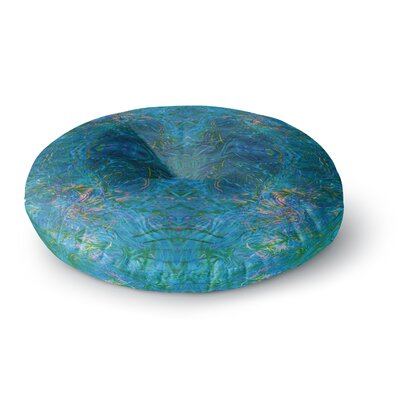 Nikposium Clearwater Round Floor Pillow Size: 26 x 26