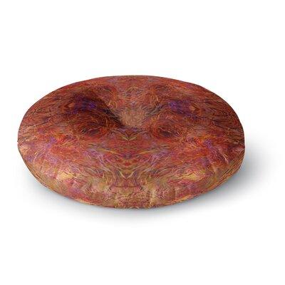 Nikposium Sedona Round Floor Pillow Size: 26 x 26