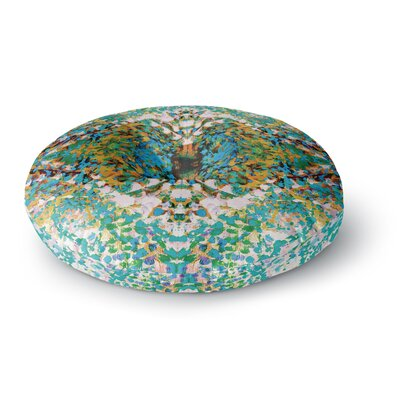 Nikposium Summer Breeze Round Floor Pillow Size: 26 x 26