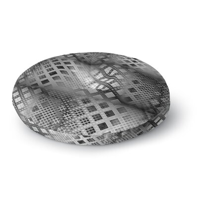 Michael Sussna Array Decay Checke Round Floor Pillow Size: 26 x 26