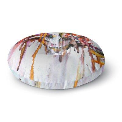 Malia Shields Cascade Round Floor Pillow Size: 23 x 23