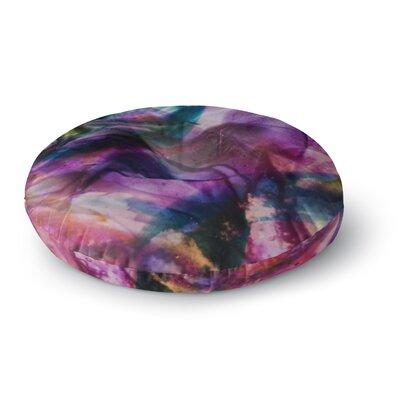 Malia Shields Bubble Series #5 Round Floor Pillow Size: 26 x 26