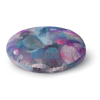 Marianna Tankelevich Dream Houses Round Floor Pillow Size: 23 x 23