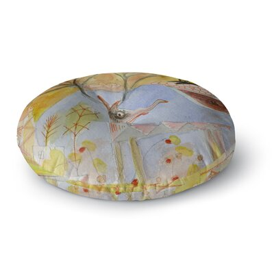 Marianna Tankelevich Promise of Magic Round Floor Pillow Size: 23 x 23