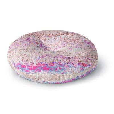 Marianna Tankelevich Broken Pattern Round Floor Pillow Size: 23 x 23