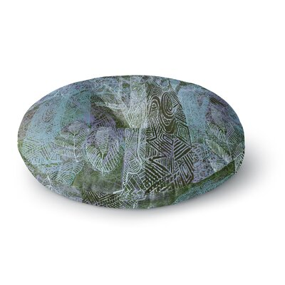 Marianna Tankelevich Wild Forest Trees Round Floor Pillow Size: 23 x 23