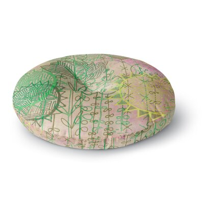 Marianna Tankelevich Pink Dream Round Floor Pillow Size: 26 x 26