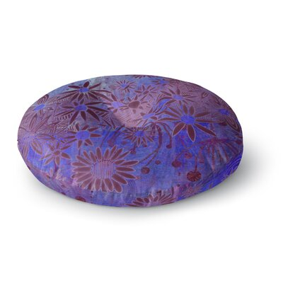 Marianna Tankelevich Purple Night Round Floor Pillow Size: 23 x 23