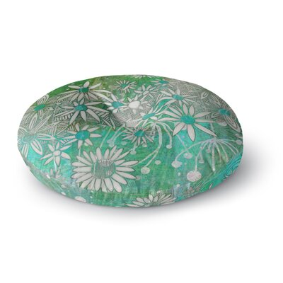 Marianna Tankelevich Spring Daisies Round Floor Pillow Size: 26 x 26