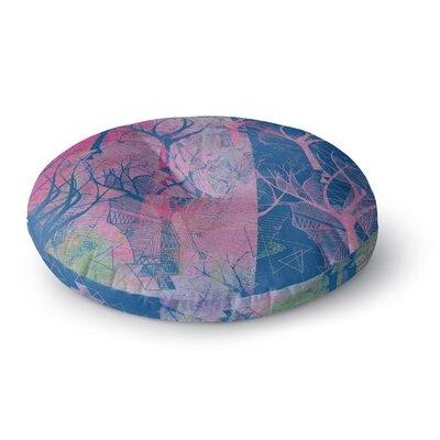Marianna Tankelevich Fantasy Garden Round Floor Pillow Size: 23 x 23