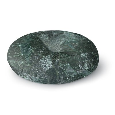 Marianna Tankelevich Aventurine Space Digital Round Floor Pillow Size: 23 x 23
