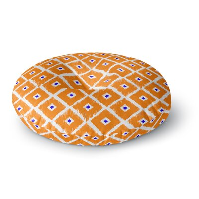 Nick Atkinson The Lucky One Round Floor Pillow Size: 26 x 26