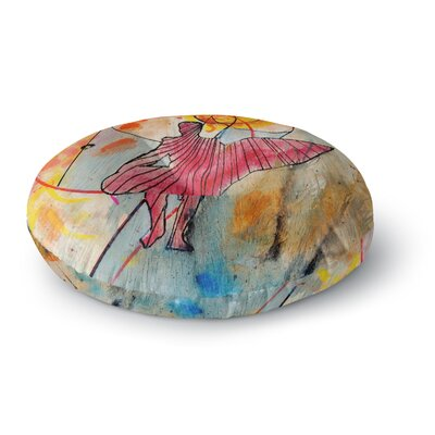 Nathan Gibbs Art Untold Beauty Round Floor Pillow Size: 26 x 26