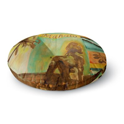 Nathan Gibbs Origins Round Floor Pillow Size: 23 x 23