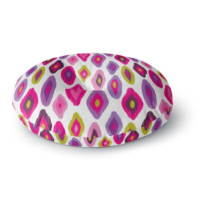 Nicole Ketchum Moroccan Dreams Round Floor Pillow Size: 23 x 23
