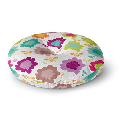 Nicole Ketchum Bee Highway Round Floor Pillow Size: 23 x 23
