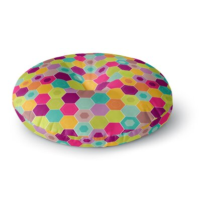 Nicole Ketchum Arabian Bee Round Floor Pillow Size: 26 x 26