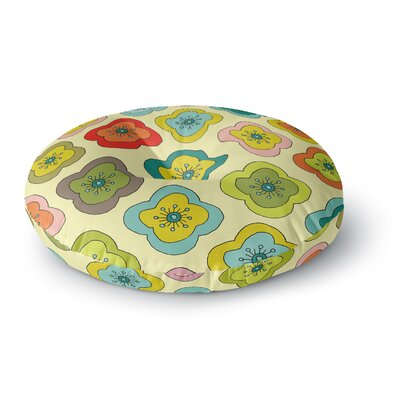 Nicole Ketchum Forest Bloom Round Floor Pillow Size: 26 x 26