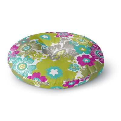 Nicole Ketchum Little Bloom Round Floor Pillow Size: 26 x 26