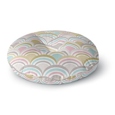 Nicole Ketchum Art Deco Delight Round Floor Pillow Size: 23 x 23