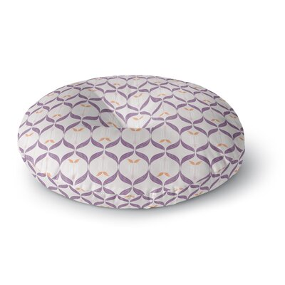 Neelam Kaur Textured Modern Reminisence Round Floor Pillow Size: 23 x 23