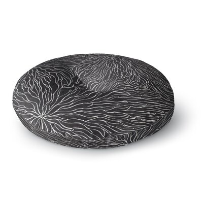 Nl Designs Garden Illusion Round Floor Pillow Size: 23 x 23