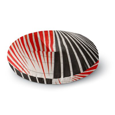 NL Designs Optical Illusions Round Floor Pillow Size: 26 x 26
