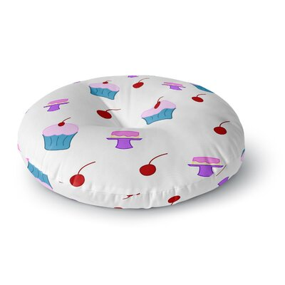NL Designs Sweet Treats Food Round Floor Pillow Size: 26 x 26