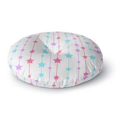 NL Designs Pastel Stars Round Floor Pillow Size: 26 x 26