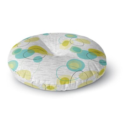 Nina May Vaniretro Round Floor Pillow Size: 23 x 23