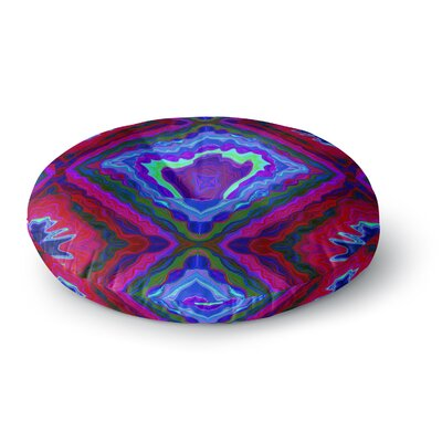 Nina May Kilim Round Floor Pillow Size: 23 x 23
