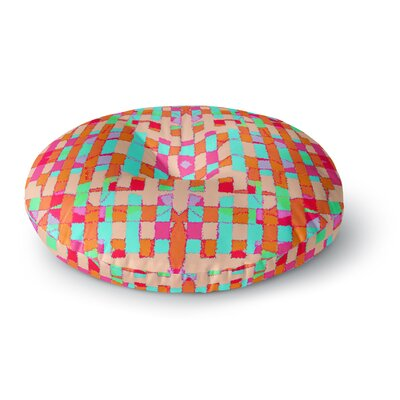 Nina May Sorbetta Round Floor Pillow Size: 26 x 26