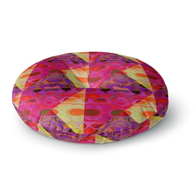 Nina May Allicamohot Round Floor Pillow Size: 26 x 26