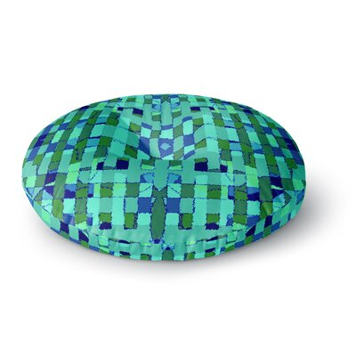 Nina May Verdiga Round Floor Pillow Size: 26 x 26