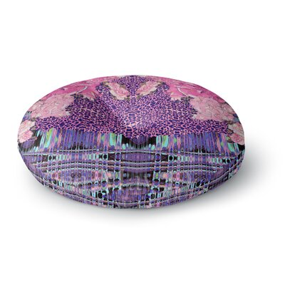 Nina May Lepparo Round Floor Pillow Size: 26 x 26