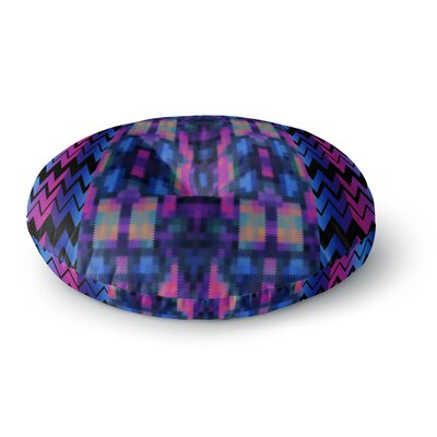 Nina May Skya Round Floor Pillow Size: 26 x 26