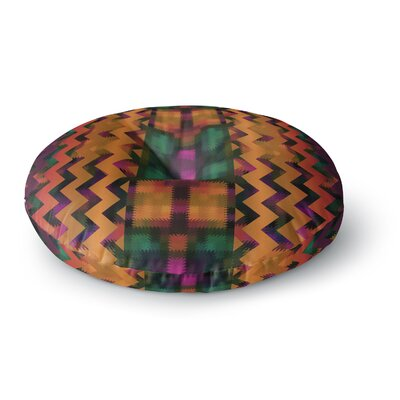 Nina May Harvesta Round Floor Pillow Size: 26 x 26