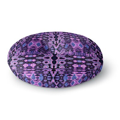 Nina May Medeaquilt Round Floor Pillow Size: 26 x 26