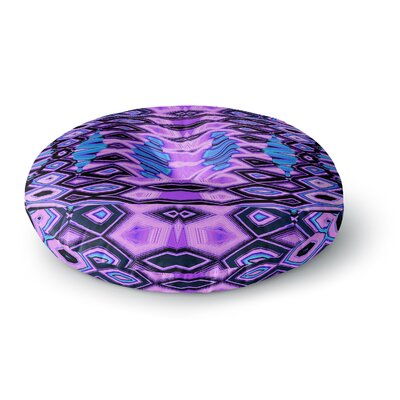 Nina May Deztecca Lilac Round Floor Pillow Size: 26 x 26