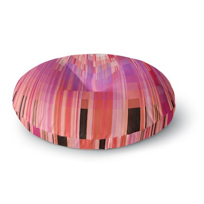 Nina May Mohave Sun Geometric Round Floor Pillow Size: 26 x 26