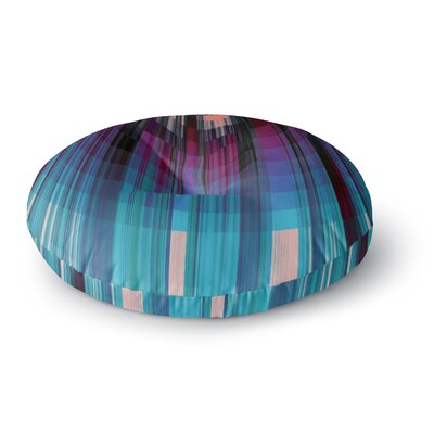Nina May Nova Sun Geometric Round Floor Pillow Size: 23 x 23