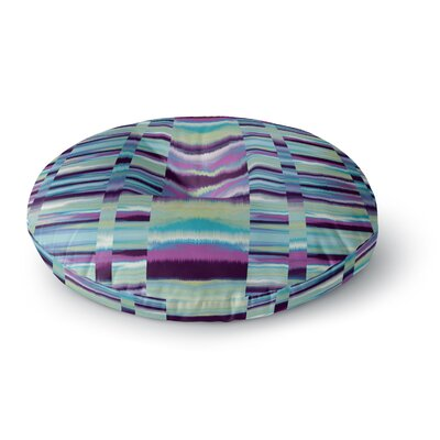 Nina May Samanna Tribal Round Floor Pillow Size: 23 x 23