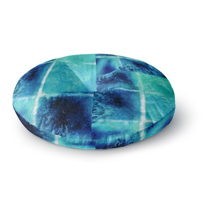 Nina May Saltwater Study Round Floor Pillow Size: 23 x 23