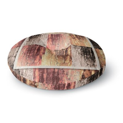 Nina May Tavertina Earth Digital Round Floor Pillow Size: 26 x 26