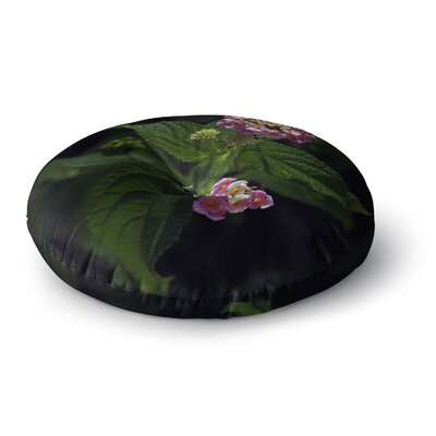 Nick Nareshni The Lantana Flower Round Floor Pillow Size: 26 x 26